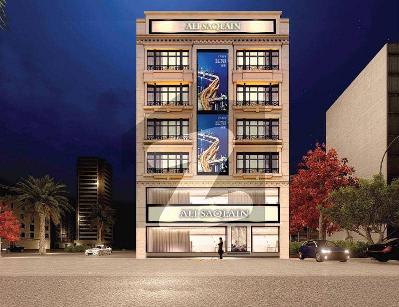 Corner Side Apartment With Eiffel View In Sq 08 Height On Easy Instalment Plan