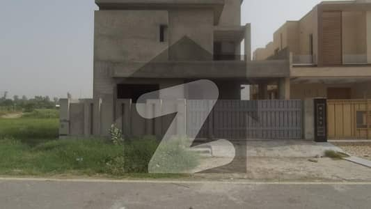 10 Marla Brand New Grey Structure House For Sale