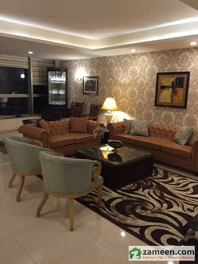 3 Bed Furnished Top Floor Apartment With Exotic View Of Margala Hills Available In Centaurus Abad