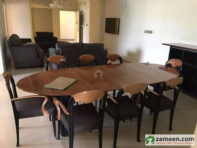 3 Beds With Servant Room Fully Furnished Apartment  Karakoram Diplomatic Enclave