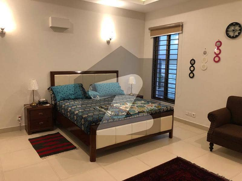 F-7  Like A Brand New Fully Furnished Lower Ground Portion For Rent