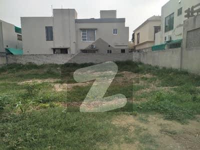 Near Main DHA Office 3 Side Cover Plot 1 Kanal Possession Plot For Sale Plot No 13 Bock B