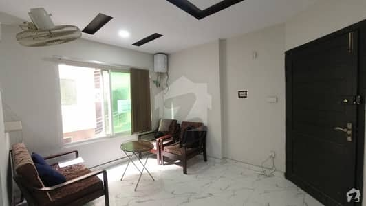 1st Floor Corner 1 Bed Full Furnished Apartment Is Available For Sale In E-11/2 Islamabad