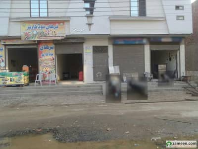 Double Storey Beautiful Commercial Building 1st Floor Flat Available For Rent At Jawad Avenue Okara