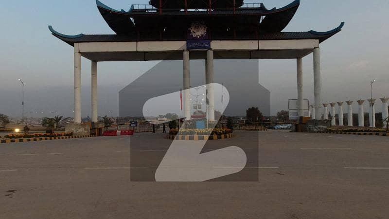بلیو ورلڈ سٹی چکری روڈ راولپنڈی میں 1 کنال رہائشی پلاٹ 28 لاکھ میں برائے فروخت۔