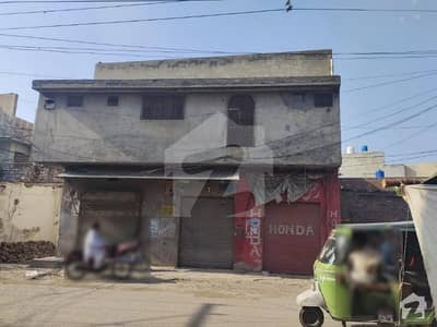 4 Marla Corner Double Storey House With 3 Shops for Sale In Lalpul