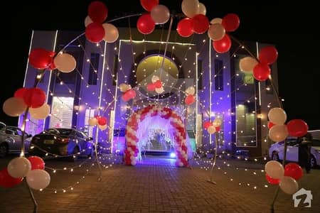6 Kanal Marquee Banquet Hall Available For Rent On Hot Location Of Okara