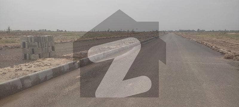 Lda City B Block 1 Kanal Corner Plot And Back 200 Feet Hunza Road Plot Available Now