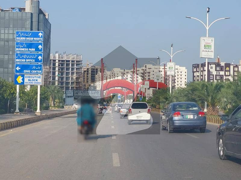 8 Kanal Commercial Plot Available For Sale In Gulberg Green