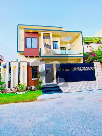 9 Marla Brand New Modern Design Bungalow For Sale In Punjab Society