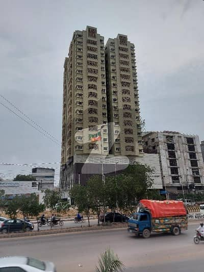 Aa Tower 4 Bed Flat With Dd 2200 Sq Ft For Sale Main Shaheed E Millat Road