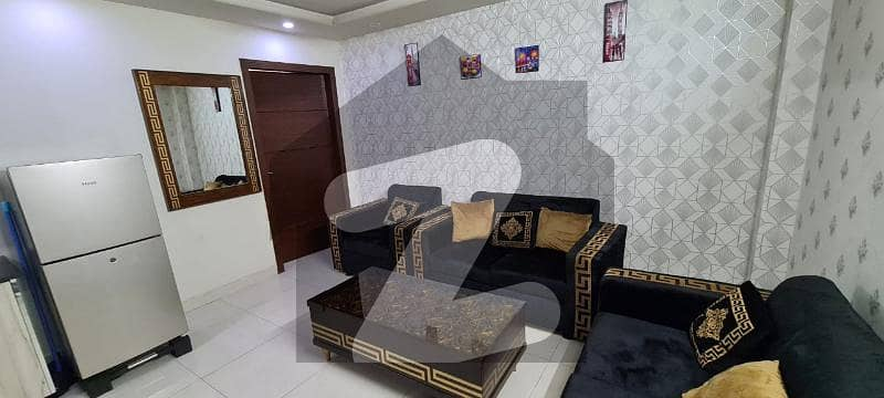 Main Boulevard Front Side 1 Bed Fully Luxury Family Flat For Sale Ready To Move Bahria Lahore