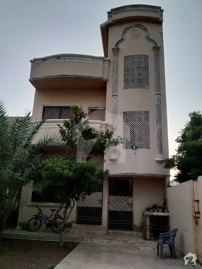 House For Sale In Zaman Town Korangi 256 Sq Yards Double Storey