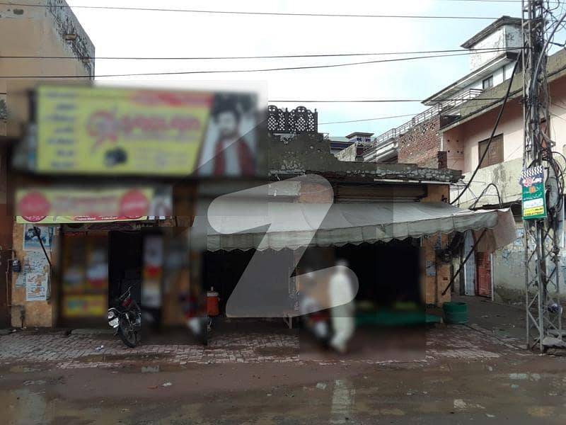8 Marla Corner House With 3 Commercial Shops At Main Raiwind Road