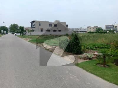 S Block 1 Kanal Prime Location Plot For Sale In Phase 8 DHA Lahore
