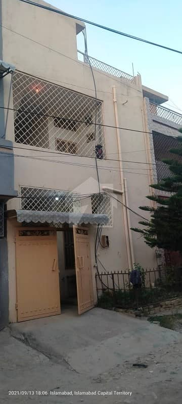 Double Storey Rcc House For Sale Gas Electricity Meter Water Geezer Available Tiled Washrooms And Kitchen Wooden Almiras Installed