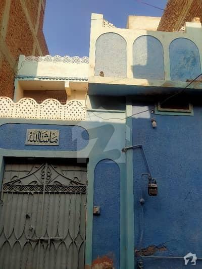 Double Storey  House Sell Unit No 11 Block A Near Rehmani Masjid