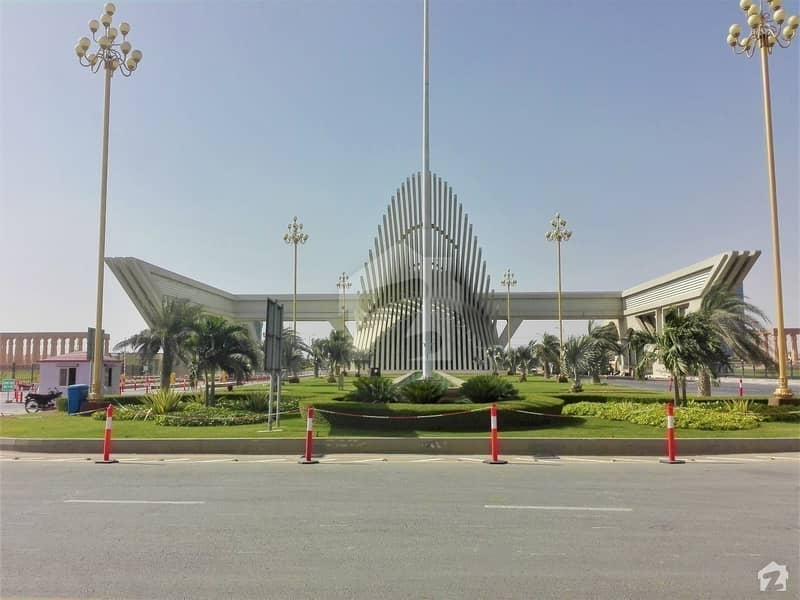 Precinct 7 - 1000 Yards Corner Extraland Road Plot Ready For Construction Bahria Town Karachi