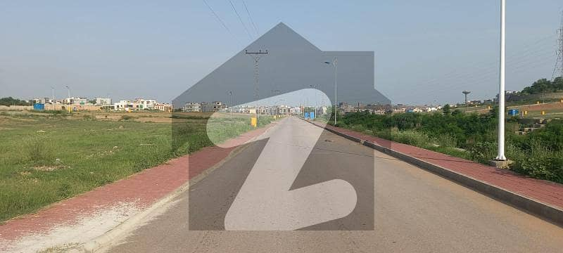 10 Marla Residential Plot Is Available For Sale In Bahria Town Phase 8 Block-i Rawalpindi