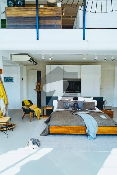 Studio Stylish Luxury Non Furnished Flat Fresh Booking Avaibale For Down Payment Sale Sale