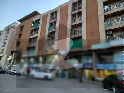 550 Sq Ft Flat On 3rd Floor In D17 Markaz, Brand New Flat Good Developed, Well Populated Area,