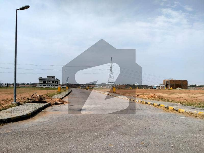 Corner Plot Is Available For Sale In Bahria Town Phase 8 Sector F-1 Rawalpindi