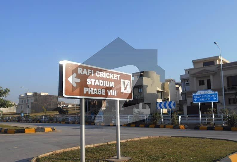 8 Marla Residential Plot Is Available For Sale In Bahria Town Phase 8 Rafi Block Rawalpindi