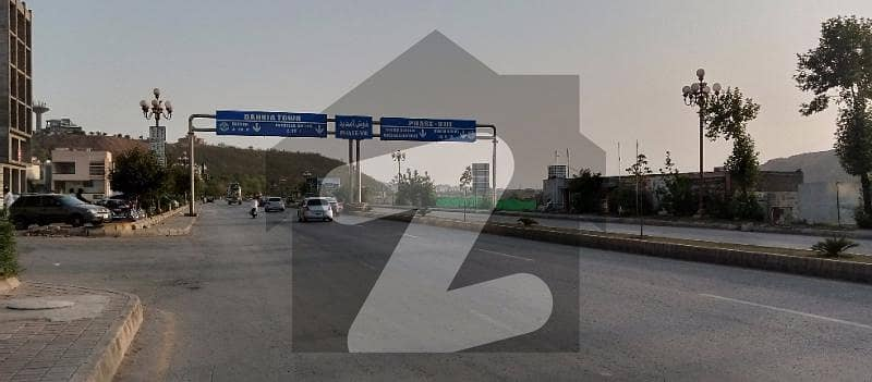 Boulevard 10 Marla Residential Plot Is Available For Sale In Bahria Town Phase 8 Block-J Rawalpindi