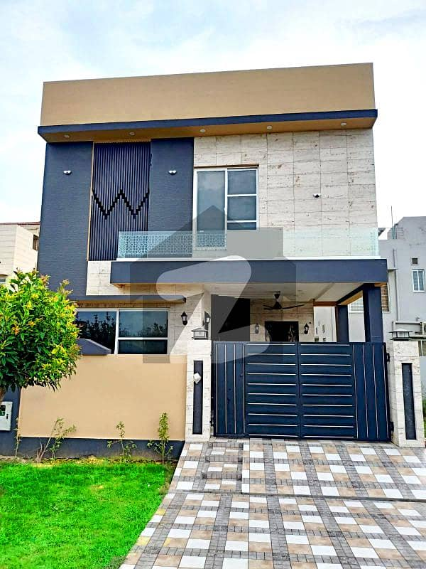 5 Marla Top Location Modern Design House For Sale Dha 9 Town Lahore