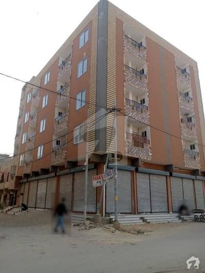 کورنگی کریک کنٹونمنٹ کورنگی کراچی میں 2 کمروں کا 5 مرلہ فلیٹ 60 لاکھ میں برائے فروخت۔