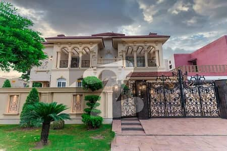 1 Kanal Brand New House Full Furnished With Basement Available At Dha Phase 7