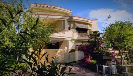 P W D Islamabad Fully Furnished Premier Ultra Luxury 50x90 Corner Triple Story House