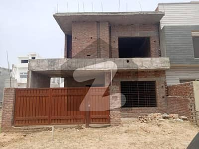 10 Marla Grey Structure House With Ideal Map For Sale