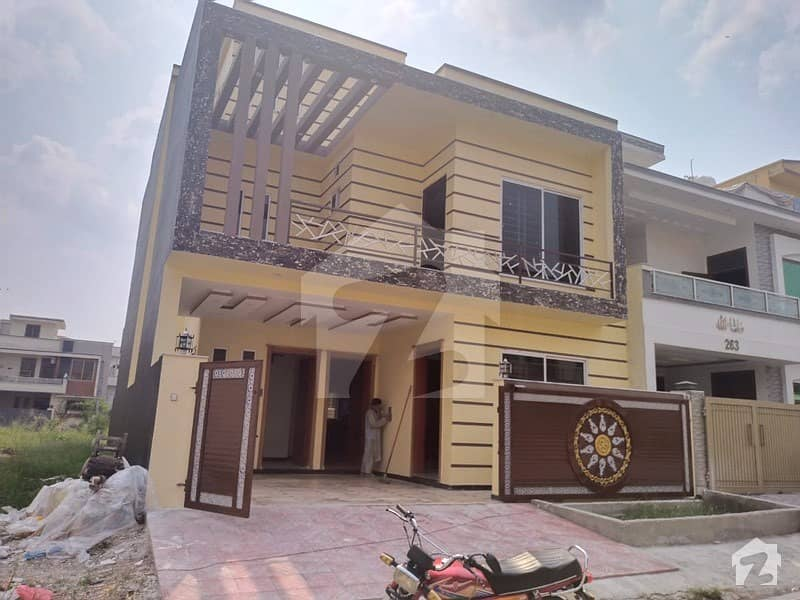 8 Marla Brand New Double Storey House For Sale Cbr Town Block D