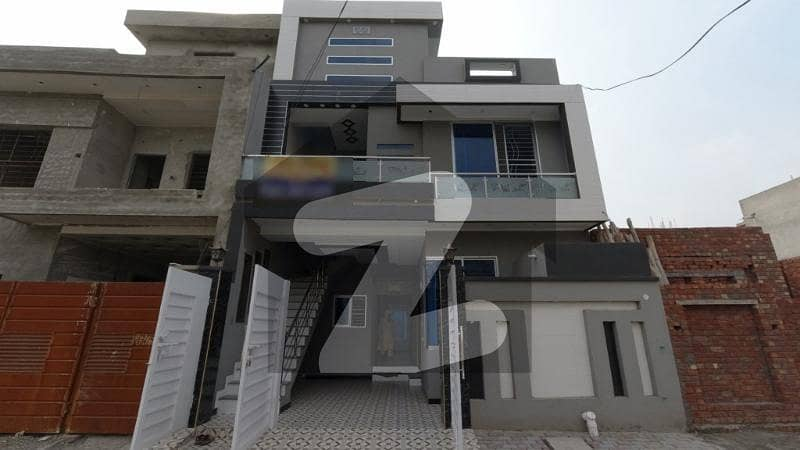 5 Marla Brand New House For Sale In A Extension Block Al Rehman Garden Lahore