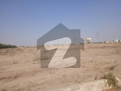 Corner West Open Residential Plot Available For Sale In Gulshan-E-Mehran