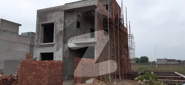 7 Marla Double Storey Grey Structure For Sale