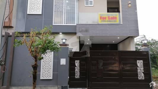 5 Marla Double Storey Facing Park House For Sale in Punjab University Society Phase 2 Block B