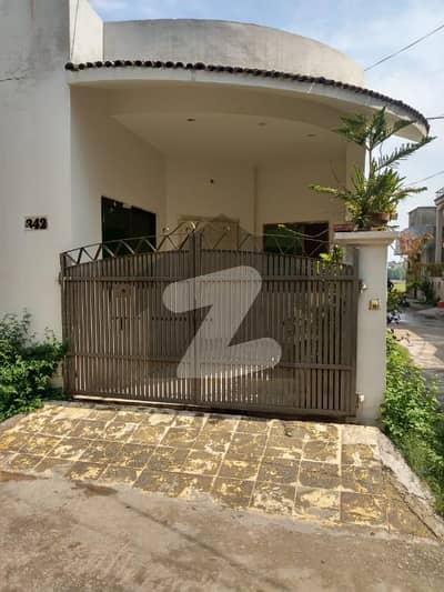 5 Marla Single Storey House For Sale - Corner House - Ghauri Town Phase I