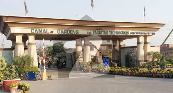کینال گارڈن - بلاک ایچ کینال گارڈن لاہور میں 10 مرلہ رہائشی پلاٹ 98 لاکھ میں برائے فروخت۔