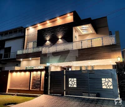 10 Marla Brand New Double Storey House For Sale In Wapda Town Phase I Park Facing House