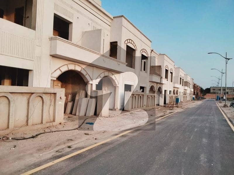 Al Noor Orchard Cottages and Villas 5 Marla Flat Lower Portion For Sale