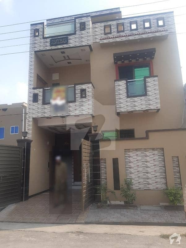 4 Marla Brand New House For Sale In A Extension Block Al Rehman Garden Phase 2.