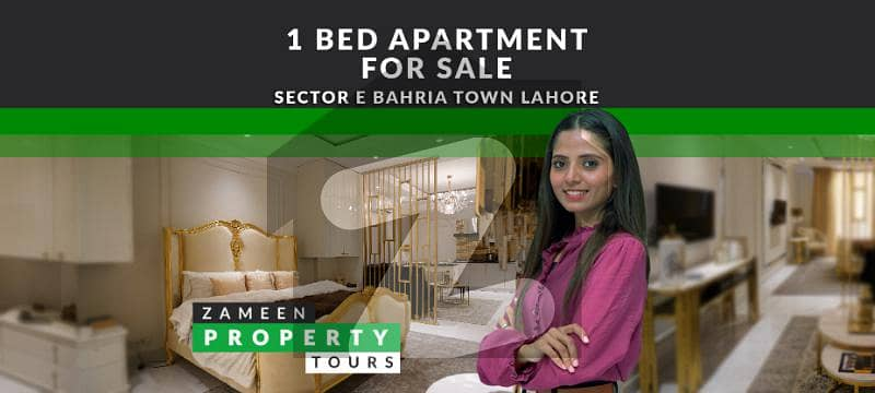 Semi Furnished Luxury Apartment For Sale With Easy Installment Plan In Bahria Town Lahore