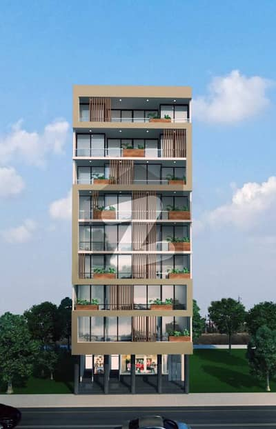 Ideal Flat For Sale In Bahria Apartments