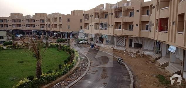 گوہر گرین سٹی کراچی میں 1 کمرے کا 2 مرلہ فلیٹ 25 لاکھ میں برائے فروخت۔