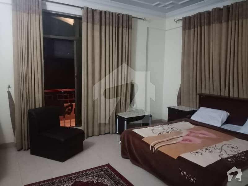 3 Bed Fully Furnish Apartment Available For Rent In F-11 Markaz