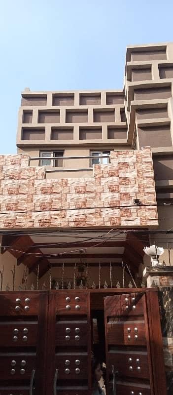 کینال بینک ہاؤسنگ سکیم لاہور میں 4 کمروں کا 5 مرلہ مکان 45 ہزار میں کرایہ پر دستیاب ہے۔
