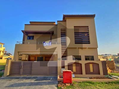Double Unit 7 Marla Brand New House For Sale Bahria Town Phase 8 Ali Block Rawalpindi