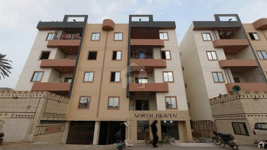 1100 Square Feet Apartment For Sale In North Nazimabad Block B